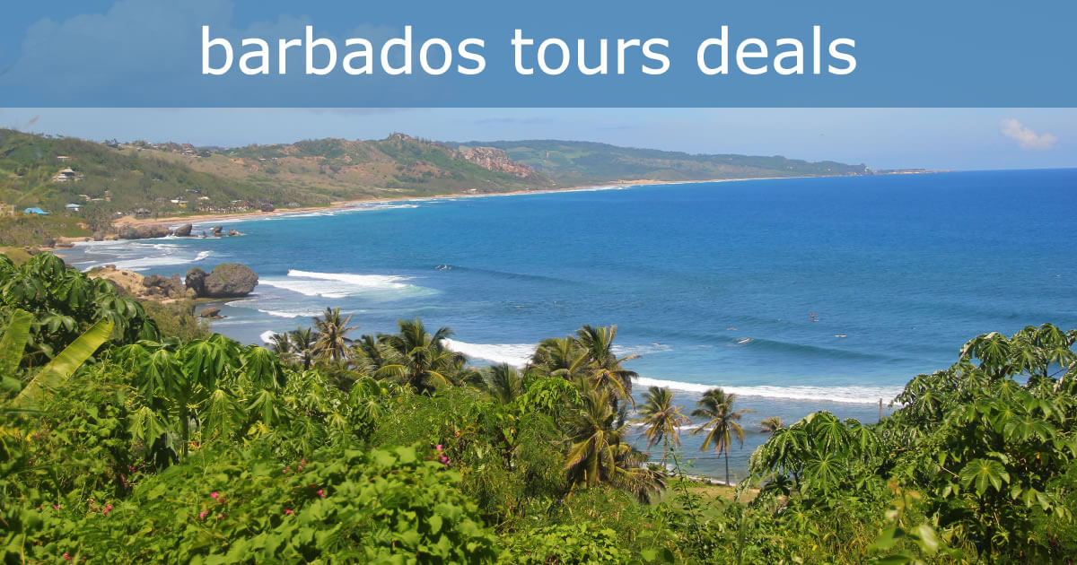 Barbados Tours And Sightseeing Special Offers And Savings - Barbados tours